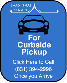 button to call for curbside service