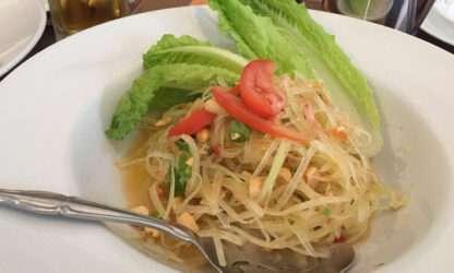 papaya salad kim courtesy Kim Hall